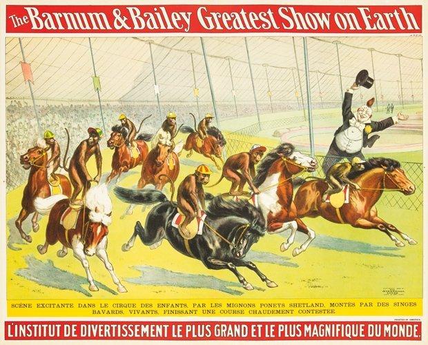 15: Barnum & Bailey / Scéne Excitante.  1898