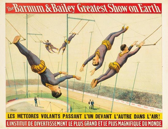 21: Barnum & Bailey / Météores Volants. 1900