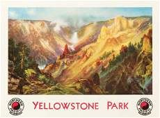 252: Northern Pacific / Yellowstone Park. 1924