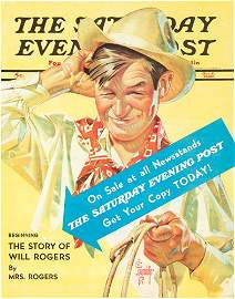 463: The Saturday Evening Post / Will Rogers. 1940