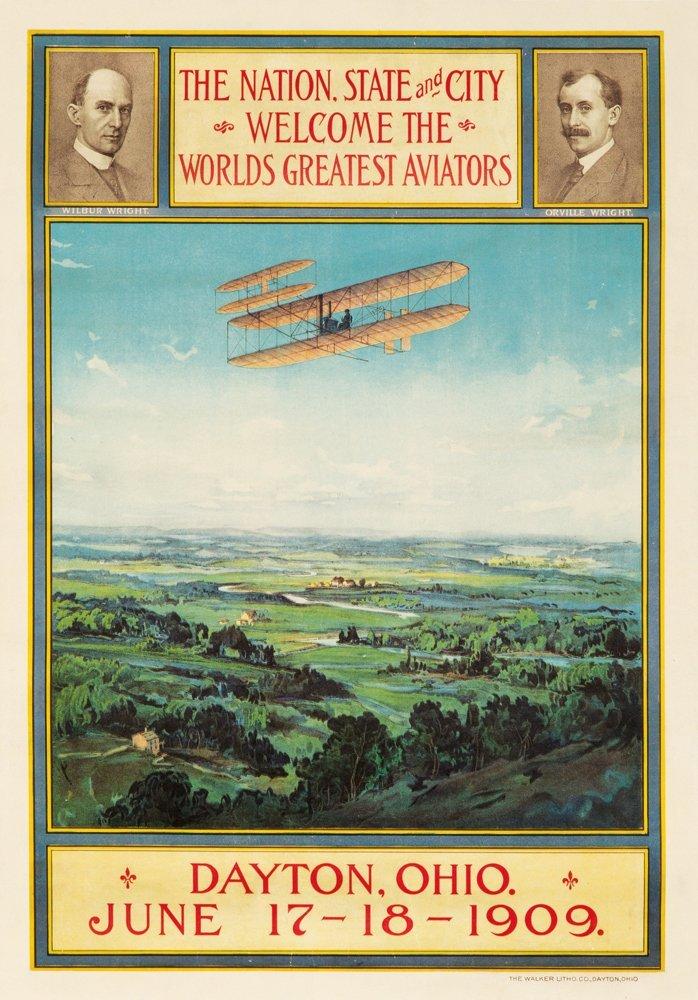 1: The Wright Brothers / Dayton, Ohio. 1909