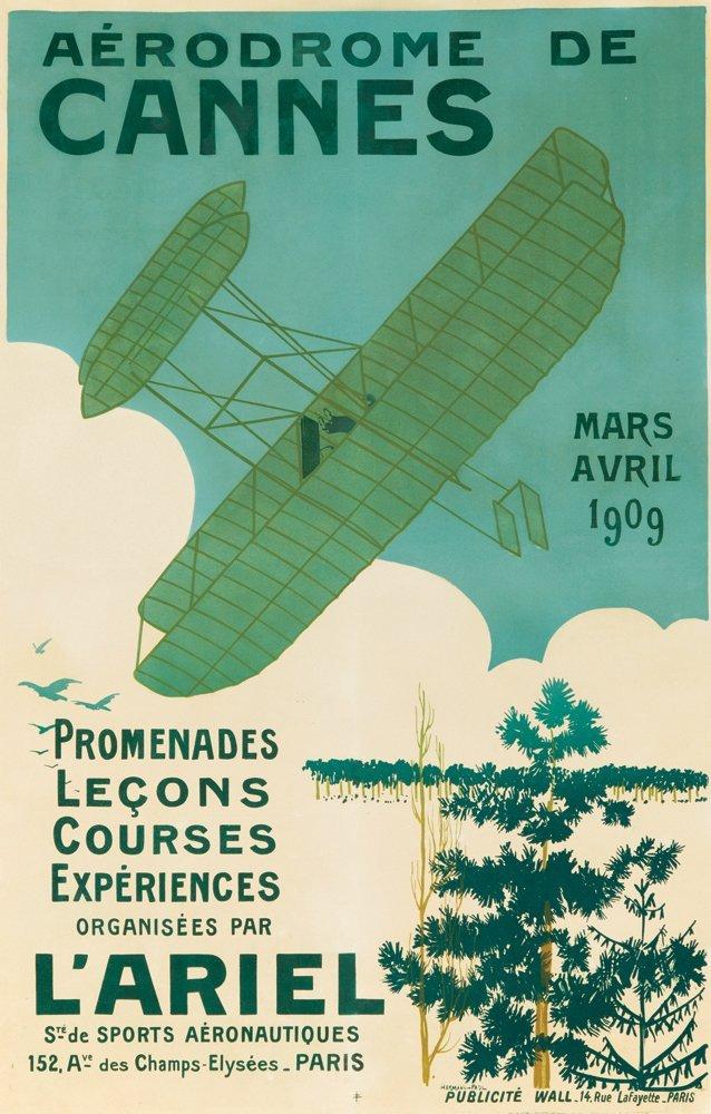 5: Aérodrome de Cannes. 1909
