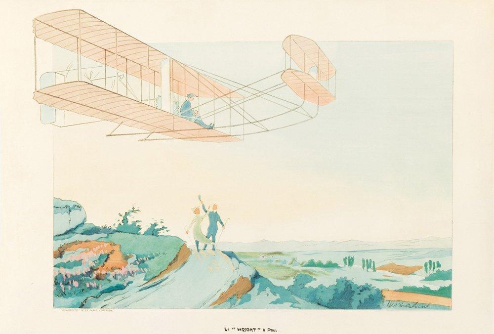 "6: Le ""Wright"" à Pau. 1909"