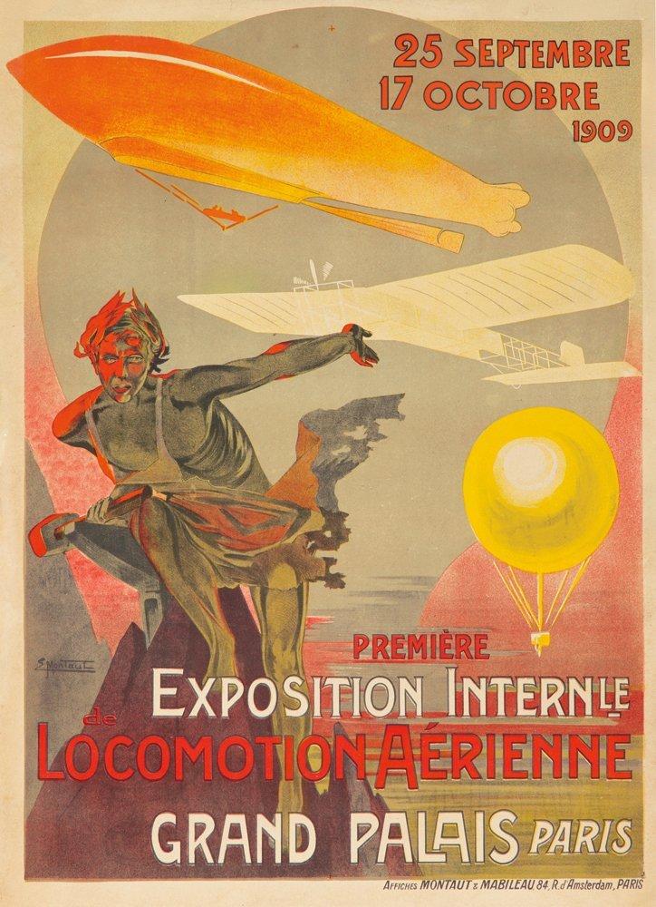 7: Première Exposition Locomotion Aérienne / Grand Pala
