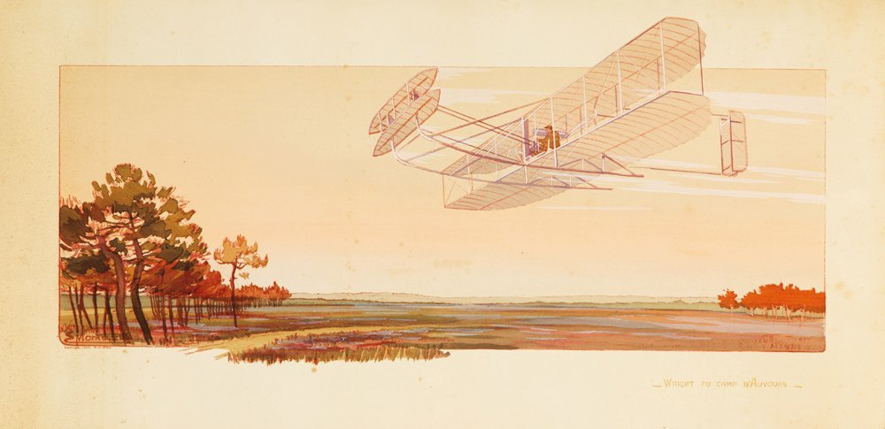 8: Wright au Camp d'Auvours.  1908