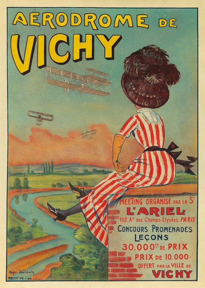 9: Aerodrome de Vichy. 1909
