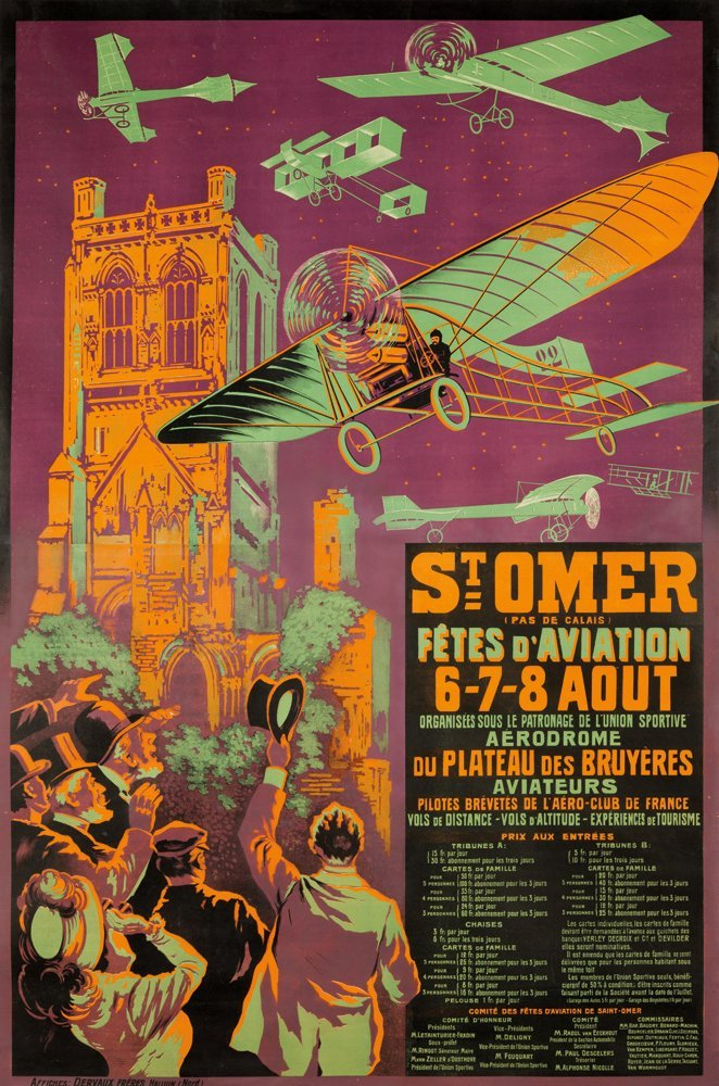 11: Saint-Omer / Fêtes d'Aviation. 1910