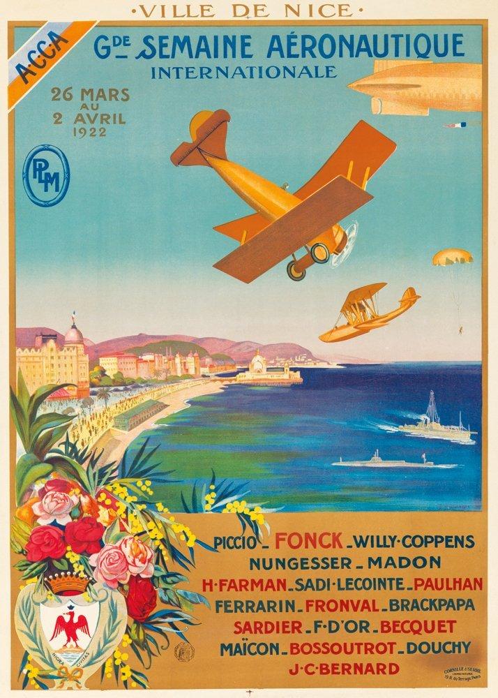 14: Gde. Semaine Aéronautique / Nice. 1922