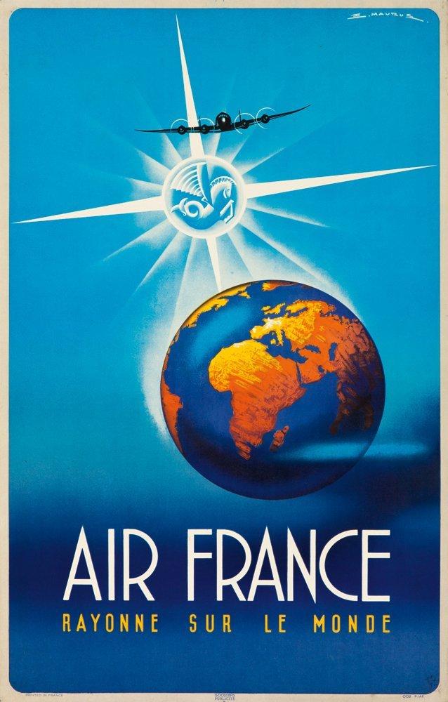 19: Air France. 1946