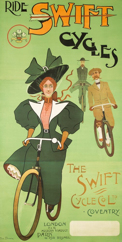 54: Swift Cycles. 1898