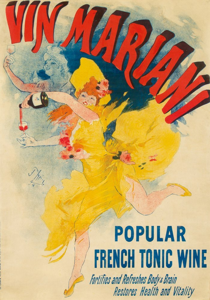 284: Vin Mariani / Popular French Tonic Wine. 1894