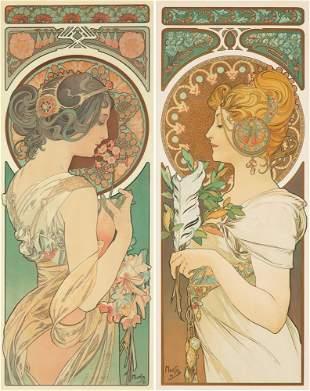 481: Plume et Primevere. 1899