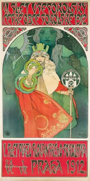 489: Sixth Sokol Festival. 1912