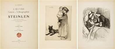 612: L'Oeuvre Gravé et Lithographié de Steinlen. 1913