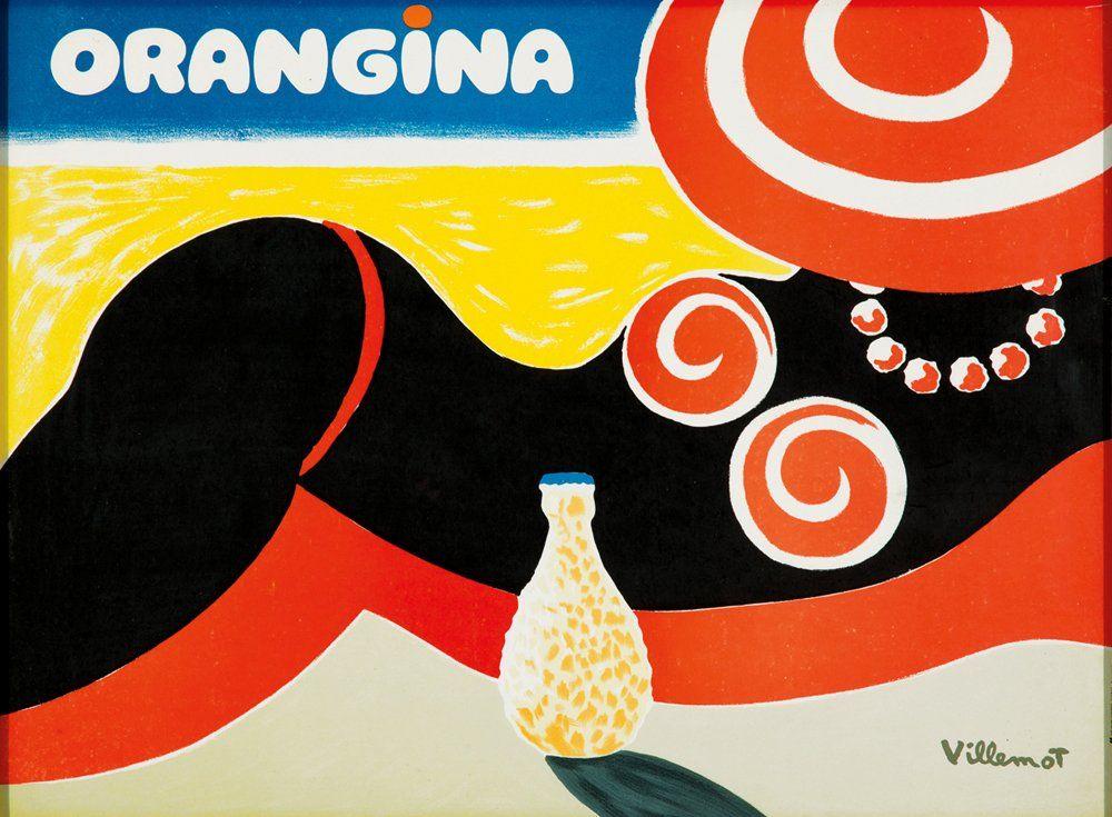 Orangina. 1986
