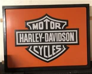 Harley Dealership Lightup Sign