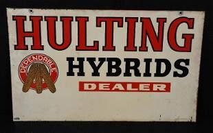 Hulting Hybrid Dealer w/Dependable Logo Metal Sign