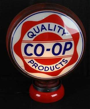 "Quality CO-OP Products w/Logo 15"" Single Globe Lens"