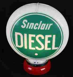 "Sinclair Diesel 13.5""D. Globe Lenses"