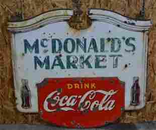 Drink Coca-Cola Porcelain Sign