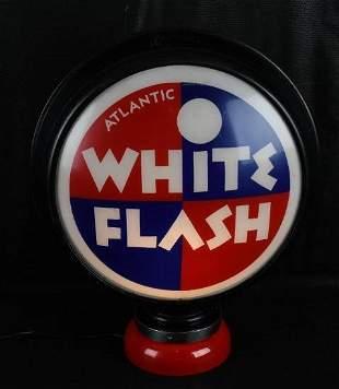 "Atlantic White Flash 16.5"" Globe Lenses"
