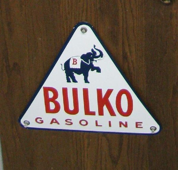 1: Rare Bulko Gasoline with Elephant (white background)