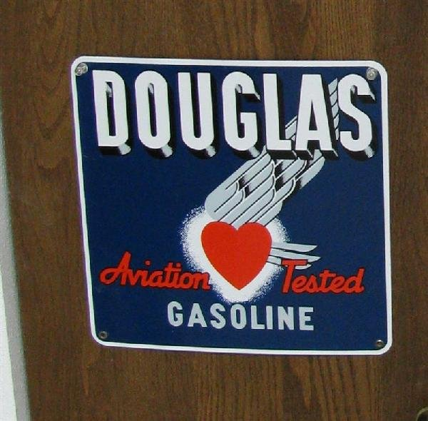 3: Douglas Aviation Tested Gasoline with Flying Heart l