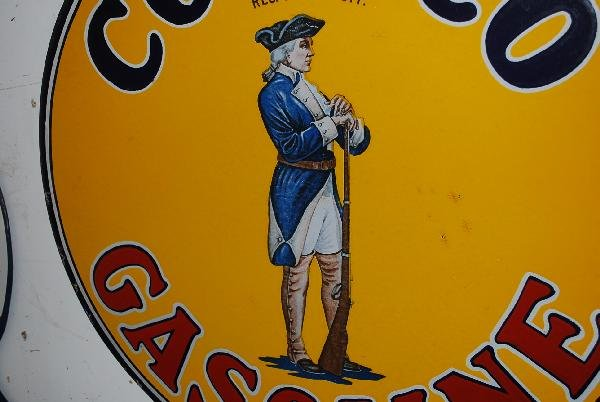 66: Conoco Gasoline with Minuteman logo,  DSP sign,  26 - 2