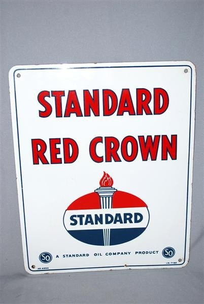 4: Standard Red Crown with logo, PPP sign, 15x13 inches