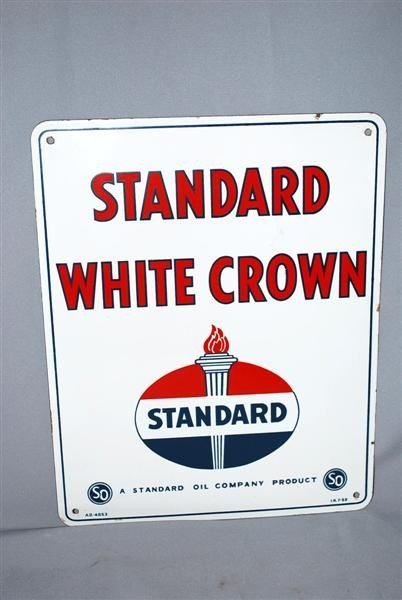 5: Standard White Crown with logo, PPP sign, 15x13 inch