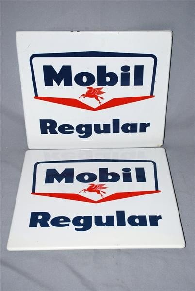 6: 2-Mobil Regular PPP signs, 12x14 inches,