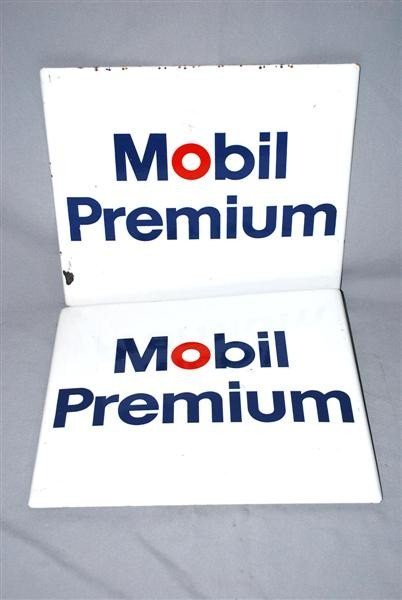 7: 2-Mobil Premium PPP signs, 12x14 inches,