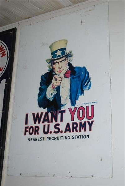 "14: Uncle Sam ""I Want You for U.S. Army"" WWII recruitin"