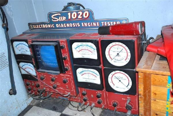 291A: Sun Model #1020 Electronic Diagnosis Engine Teste