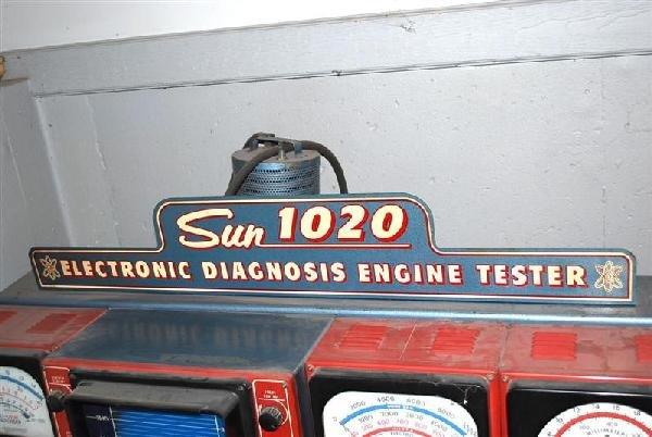 291A: Sun Model #1020 Electronic Diagnosis Engine Teste - 2