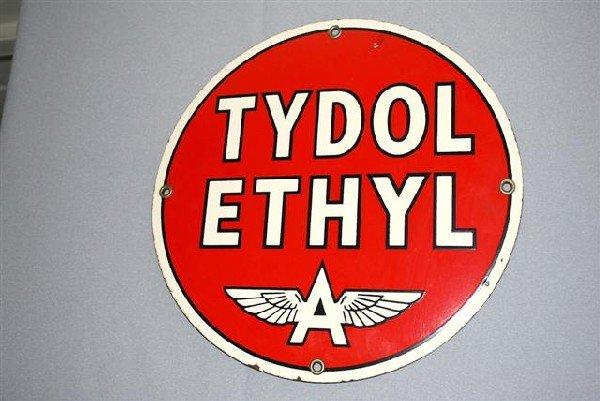 5: Tydol Ethyl with Flying A logo,  PPP sign,  10 inch,