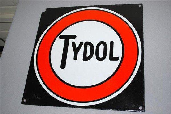 6: Tydol  SSP sign,  13x13 inches,