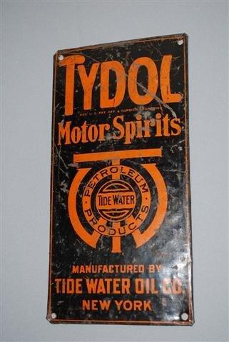 8: Tydol Motor Spirits Tide Water Oil Co. New York SST