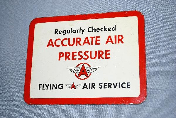 """9: Flying Air  Service """"Regularly Checked Accurate Air"""