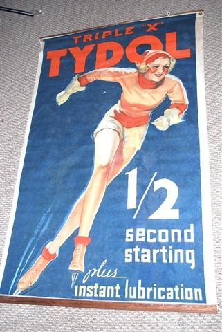 "13: Triple ""X"" Tydol with Skating Girl graphic,  cloth"