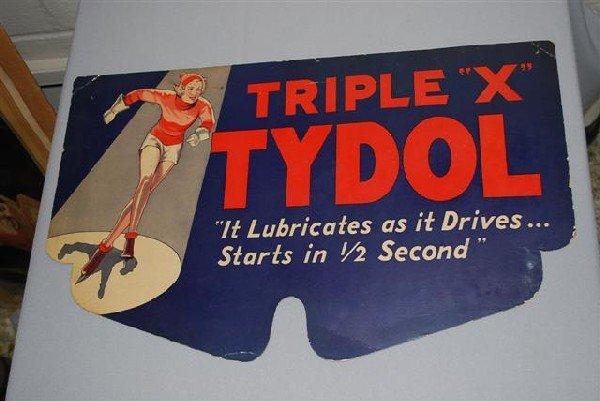 "14: Tydol ""Triple X"" with Skating Girl,  paper winter f"