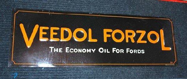 """21: Veedol Fordzol """"The Economy Oil for Fords"""" SST embo"""