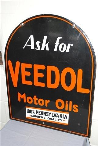"""33: Veedol Motor Oil """"100 % Pennsylvania Supreme Qualit"""