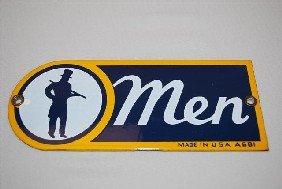 (Sunoco) Men (restroom) With Graphics,  SSP Sign,