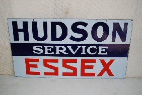 Hudson Essex Service DSP Sign,  16x30 Inches,