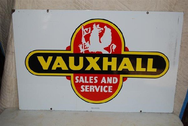 70: Vauxhall Sales and Service with logo,  DSP sign,  2