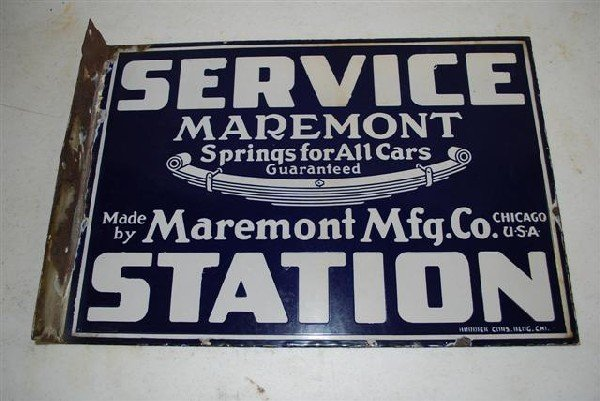 "74: Maremont ""Springs for All Cars"" Service Station,  p"