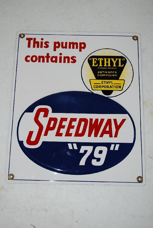 "92: Rare Speedway ""79"" with ethyl logo,  SST embossed p"