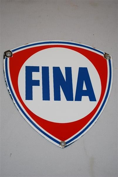 8: Fina  PPP sign, 9x8.5 inches,
