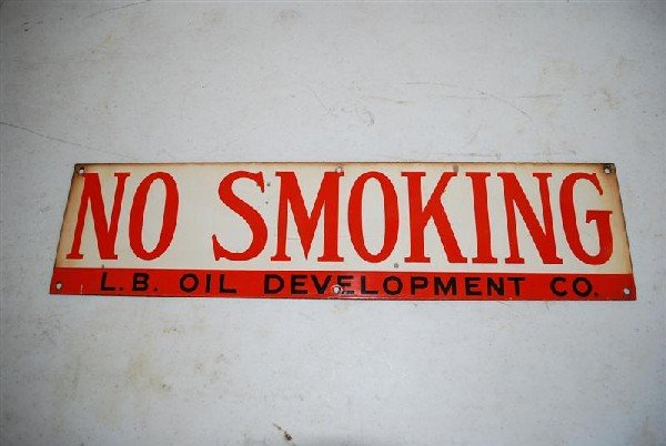 23: L.B. (Long Beach) Oil Development Co. NO SMOKING  S